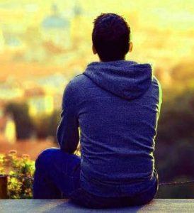 Sad Whatsapp DP Pics For Alone Boys