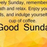 165+ Sunday Good Morning Images { Latest Collection }