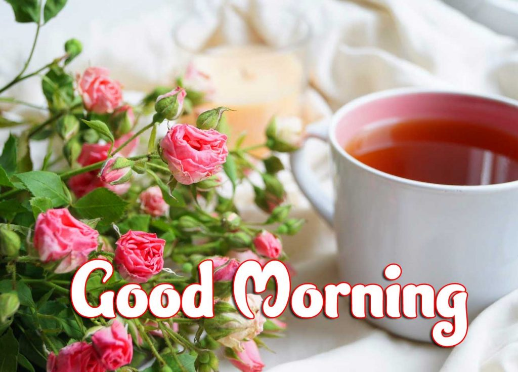 Tea Coffee Good Morning Images Download With Flower