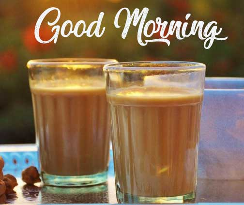 Beautiful Tea Coffee Good Morning Images Download With Friend