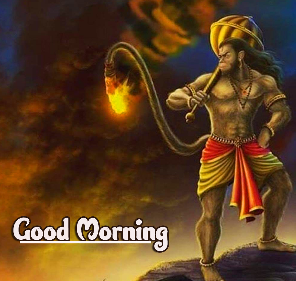 Best God Good Morning Images Download With Hanuman JI
