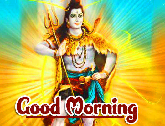 Hindu God Good Morning Images Pics With Shiva