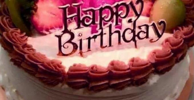 Beautiful Happy Birthday Cake Wallpaper