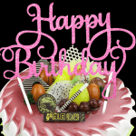 Beautiful Happy Birthday Cake Wallpaper