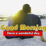 Beautiful Husband Wife Romantic Good Morning Photo Free