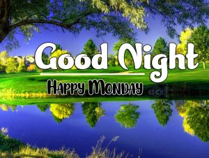 Beautiful good night monday images Photo Download Free
