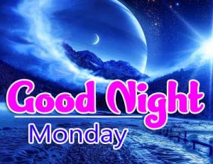 Beautiful good night monday images Photo Pics HD