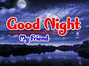 Beautiful good night monday images Photo for Facebook