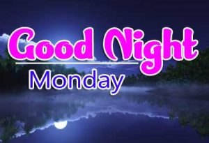 Beautiful good night monday images Photo for Facebook HD