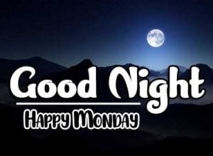 Beautiful good night monday images Pics Download Latest