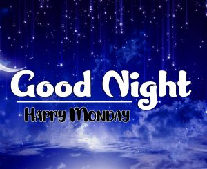 Beautiful good night monday images Pics Free