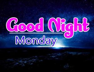 Beautiful good night monday images Pics Free Latest