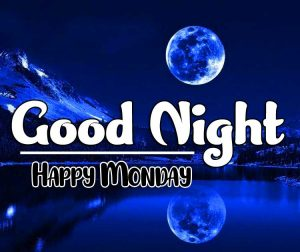 Beautiful good night monday images Pics Free New