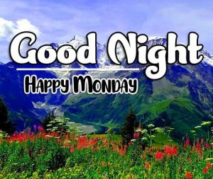Beautiful good night monday images Pics new