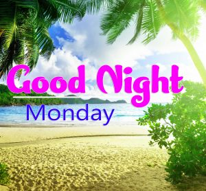 Beautiful good night monday images Pictures free Download