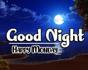 Beautiful good night monday images Wallpaper Free