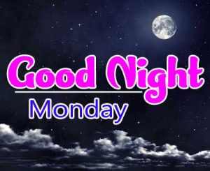 Beautiful good night monday images Wallpaper New
