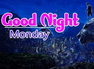 Best Beautiful good night monday images Pics Download