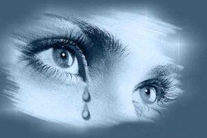 Best Crying Eyes Whatsapp Dp Photo