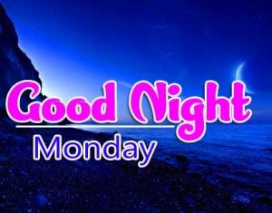 Best Top Beautiful good night monday images Pics Download