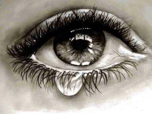 Cute Crying Eyes Whatsapp Dp Hd