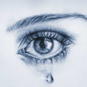 Cute Crying Eyes Whatsapp Dp Pics