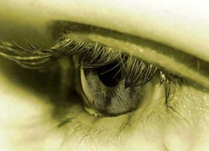 Cute Crying Eyes Whatsapp Dp Pictures