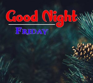 Cute Good Night Friday Images Wallpaper