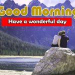 Cute Husband Wife Romantic Good Morning Wallpaper