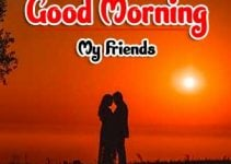 Cute Love Couple Good Morning Wishes Images