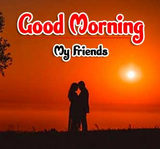 Cute Love Couple Good Morning Wishes Images wallpaper download