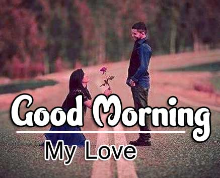 Cute Love Couple Good Morning Wishes Images pictures free hd
