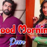 Cute Love Couple Good Morning Wishes Images wallpaper hd download