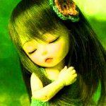 Cute Sad Doll Whatsapp Dp Wallpaper