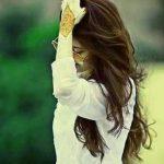 Cute Stylish Girl Whatsapp Dp Photo Wallpaper
