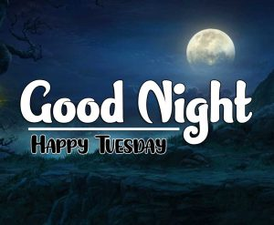 Free Best Good Night Tuesday Images Download