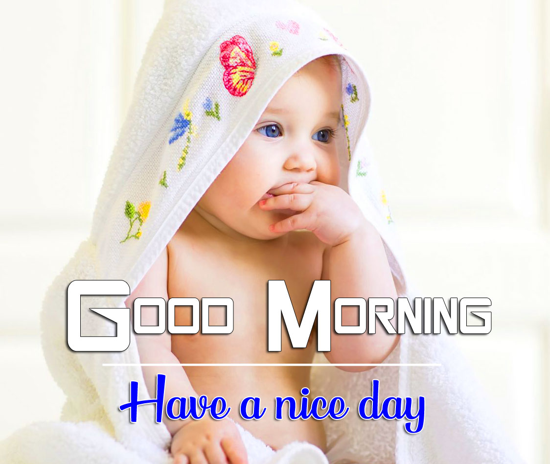 Free Good Morning Images Wallpaper With Baby