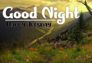 Fresh HD Good Night Tuesday Images Download