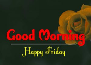 Good Morning Friday Images Wallpaper