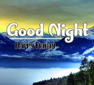 Good Night Friday Images