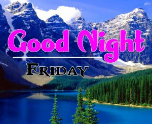 Good Night Friday Images Download