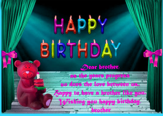 Happy Birthday Brother Images pics download