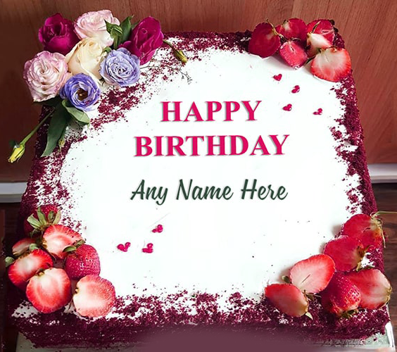 Happy Birthday Cake With Name for download