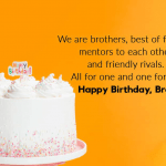 Happy Birthday Wishes For Brother Images wallpaper free hd