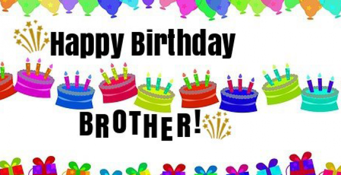 Happy Birthday Wishes For Brother HD Wallpaper