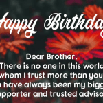 Happy Birthday Wishes For Brother Images download