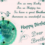 Happy Birthday Wishes For Brother Images photo download