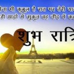 Hindi Shubh Ratri Images Pics for Whatsapp