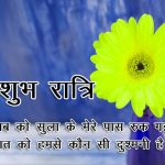 Hindi Shubh Ratri Wallpaper Free Download