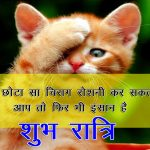 Hindi Shubh Ratri Wallpaper Free for Facebook